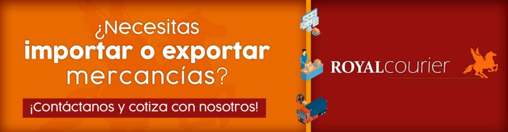 Servicio de exportaciones e importaciones